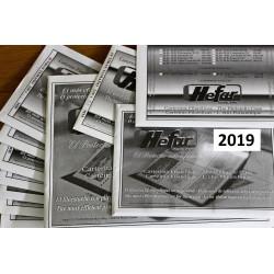 HEFAR TRANSPARENTES AÑO 2019