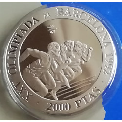 1992 ATLETISMO PROOF