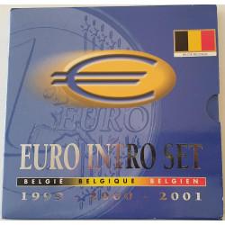 CARTERA EUROS BELGICA 1999 2000 2001
