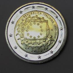2 € FRANCIA BANDERA 2015