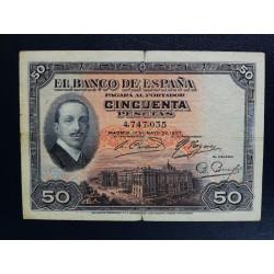 50 PESETAS 17 mayo 1927
