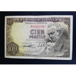 100 PESETAS 19 FEBRERO 1946