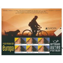 Europa, rutas postales.