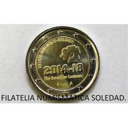 2 € BELGICA 2017 LIEJA