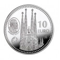 10 EUROS EN PLATA