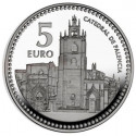 5 EUROS EN PLATA